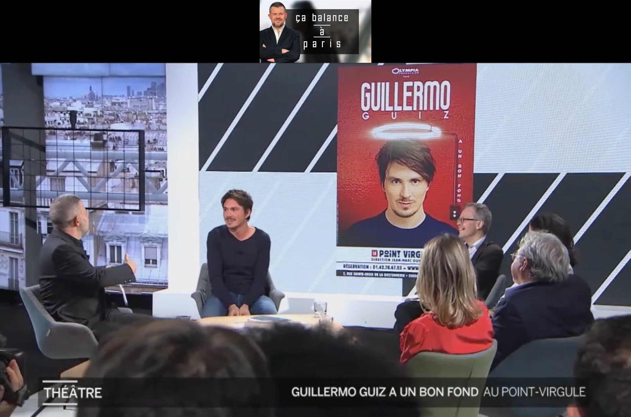 "Guillermo Guiz invité surprise de ""Ça balance à Paris"""